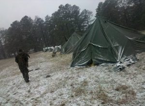 Weather Conditions tent
